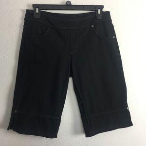 Athleta Bettina Bermuda Black Shorts S